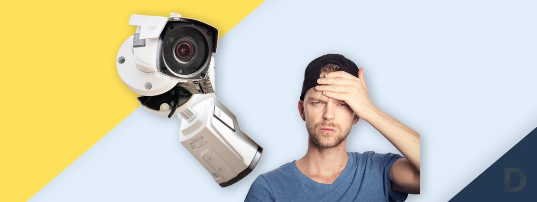 Къде и как да монтирам камера за видеонаблюдение?