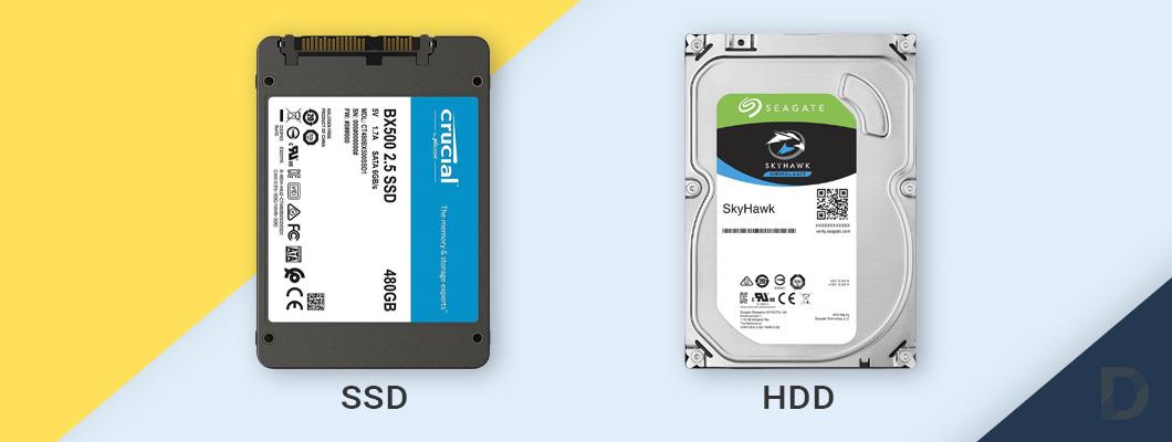 HDD или SSD за видеонаблюдение