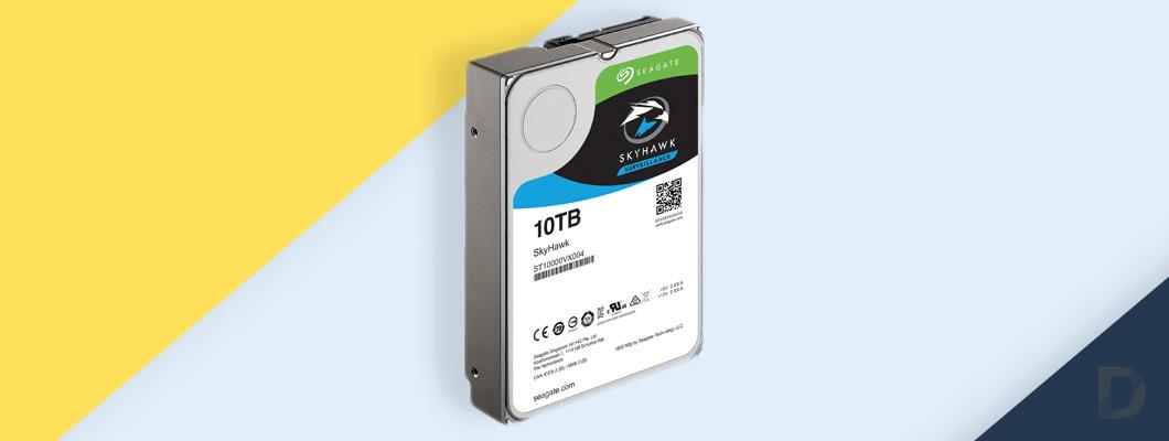 Каква е разликата между обикновен хард диск и хард диск подходящ за използване в системи за видеонаблюдение?