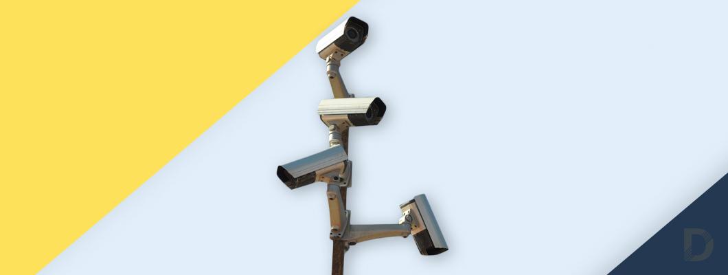 Кои са страните с най-много камери за наблюдение в света