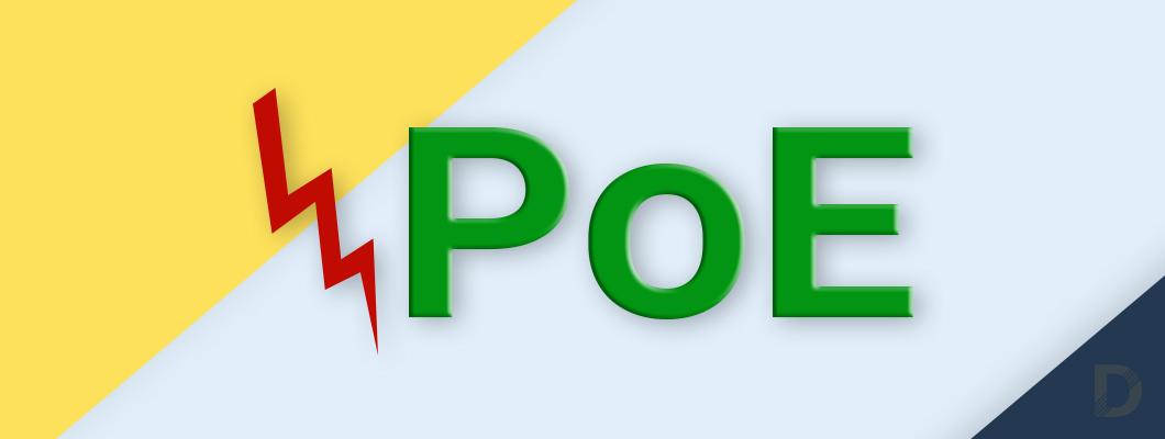 Какво означават различните PoE типове и за какво се използват