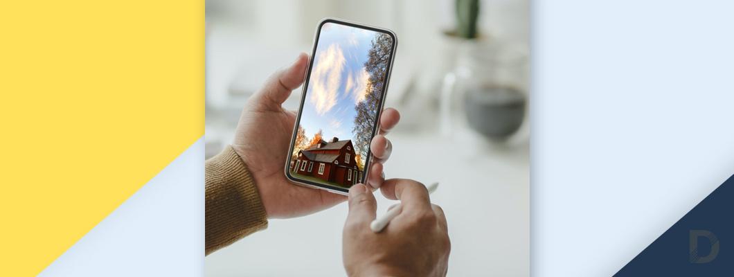 Камера за наблюдение през телефон