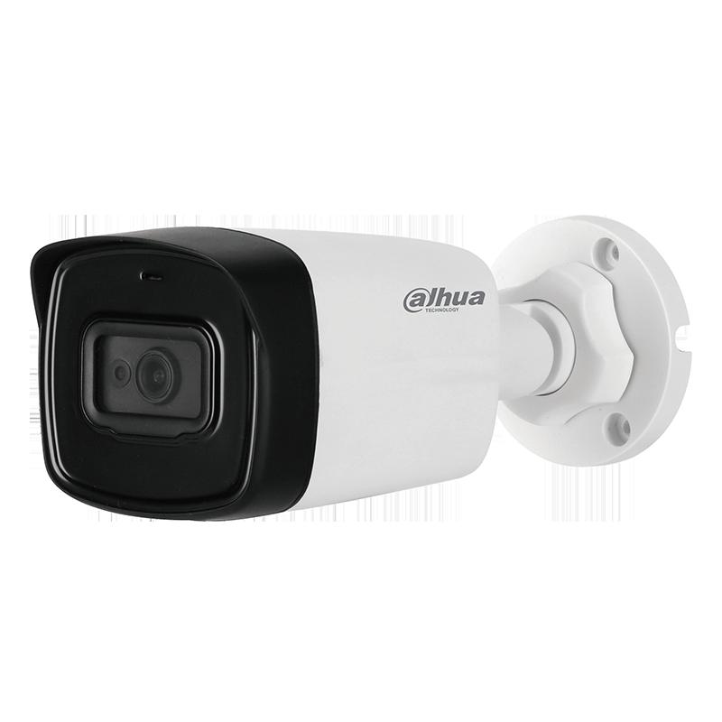 AHD IR камера за употреба на открито с до 80м. нощно виждане и вграден микрофон