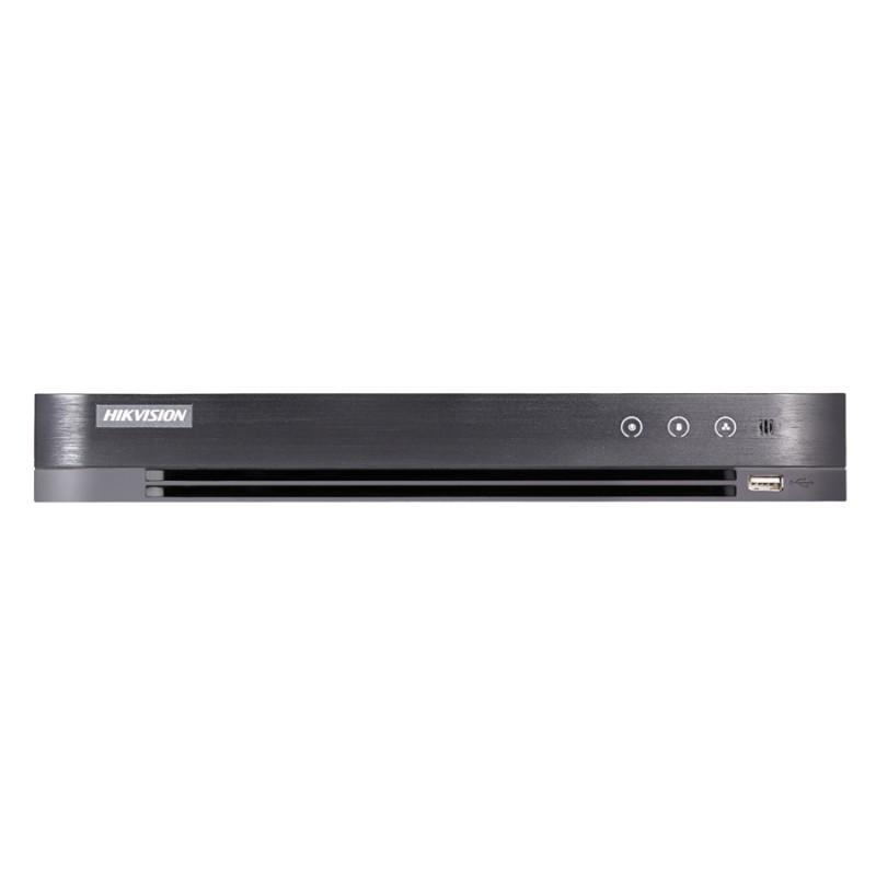 Хибриден 8 канален пентабриден HD-TVI/AHD/CVI/IP цифров рекордер Hikvision DS-7208HQHIK1/ A(S)