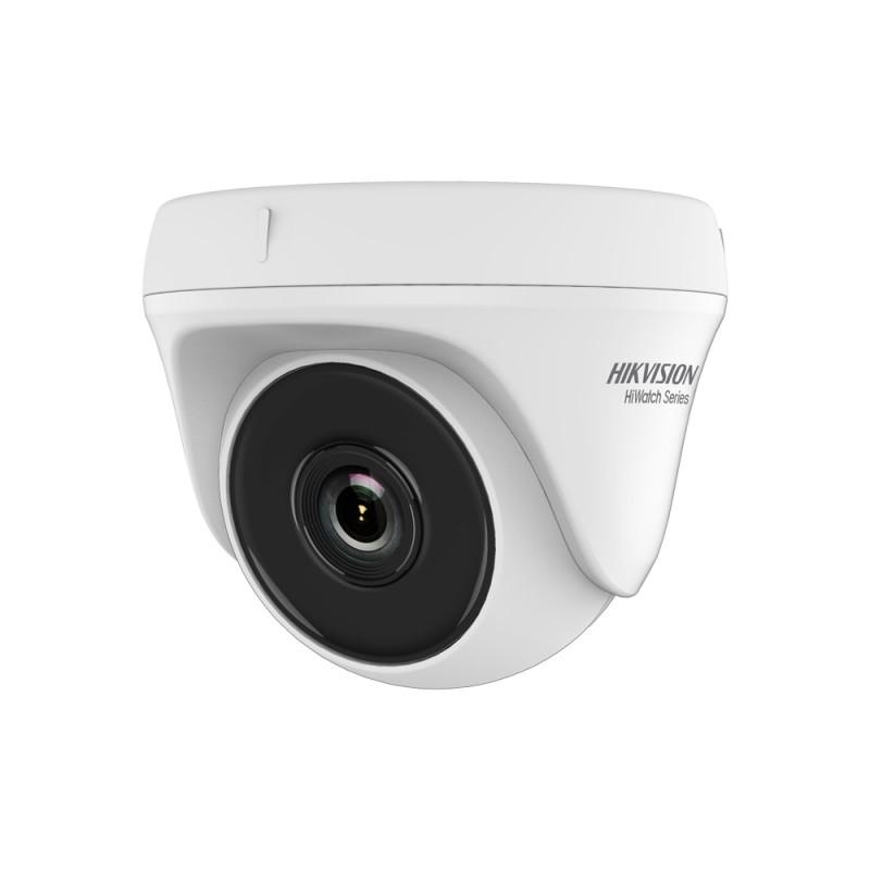 2 MP TVI/AHD/CVI/CVBS куполна камера HIKVISION HWT-T120-P с EXIR технология, 2.8мм обектив