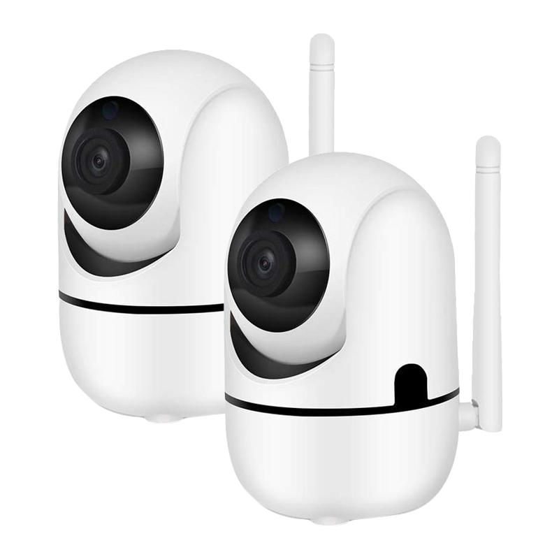 2 броя WIFI Робо камера със слот за SD карта и вграден микрофон
